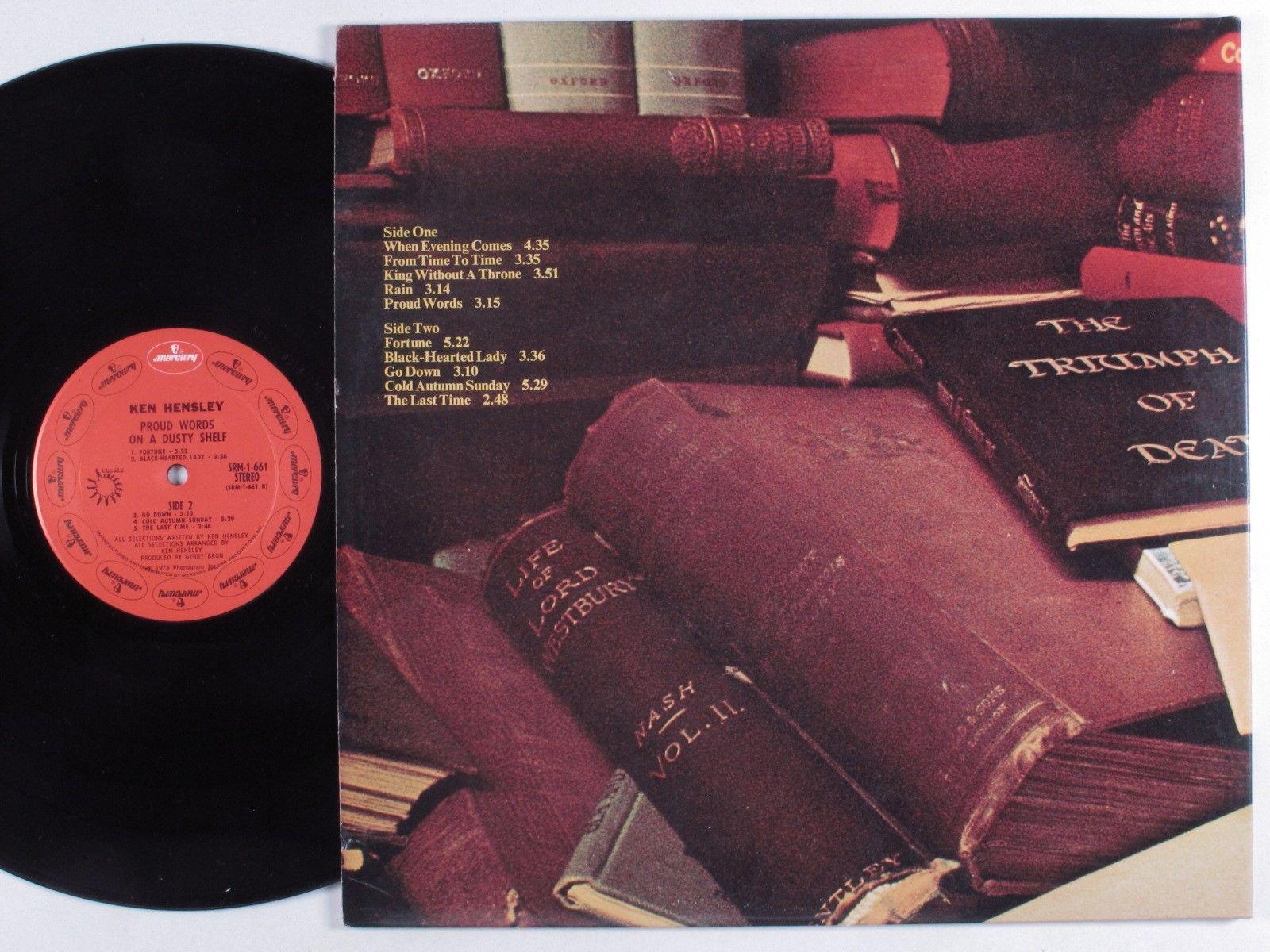 Johnkatsmc5 Ken Hensley Proud Words On A Dusty Shelf 1973 Uk Prog Classic Rock