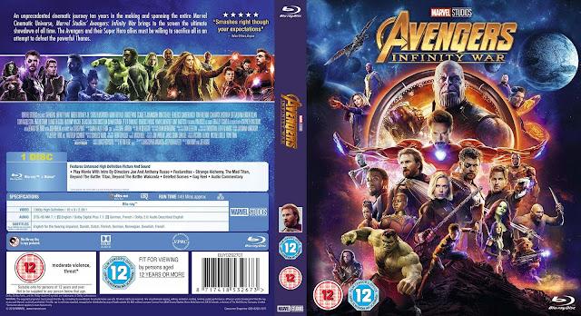 Avengers: Infinity War 4k