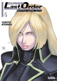 "Reseña de ""Gunnm Last Order"" vols. 4 y 5 de Yukito Kishiro - Ivréa"