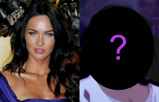 15 Estrellas de Hollywood a lado de su doble animado. ¡El de Megan Fox es sorprendente!