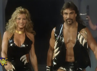 WWF / WWE - King of the Ring 96 -  Marc Mero and Sable head to the ring