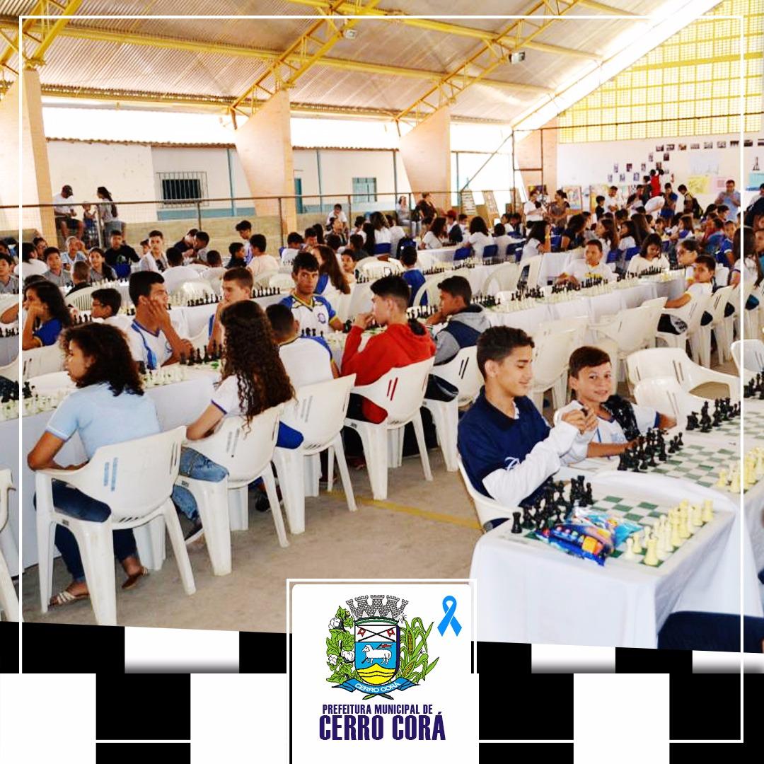 AQUI PERTINHO: 7º Circuito de Xadrez é realizado com sucesso em Cerro Corá