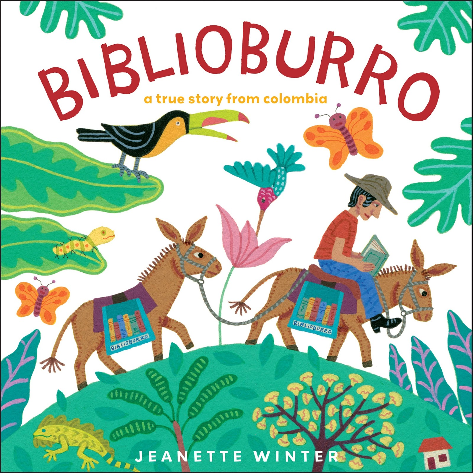 Book Buzz 4 Kids Biblio Burro A True Story From Columbia