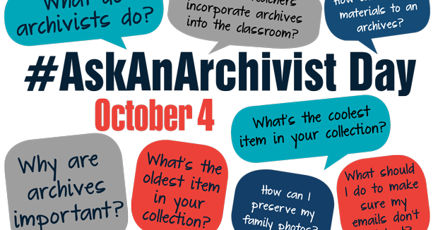 #AskAnArchivist Day (4th October 2017)