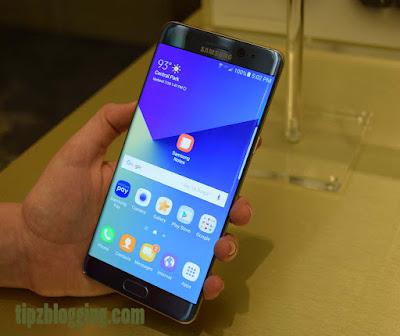 Harga Samsung Galaxy Note 7 Terbaru dan Spesifikasinya