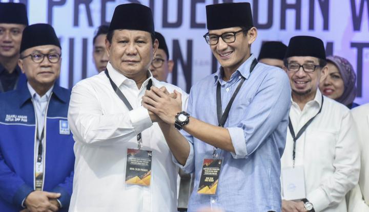 Paparkan Visi Misi, Prabowo-Sandi akan Lakukan Town Hall Meeting