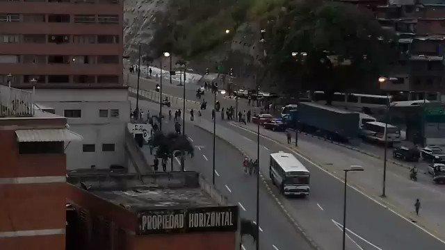 PROTESTA EN La Roca Tarpeya