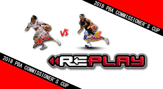 Video Playlist: Alaska vs Rain or Shine game replay April 27, 2018 PBA Commissioner's Cup