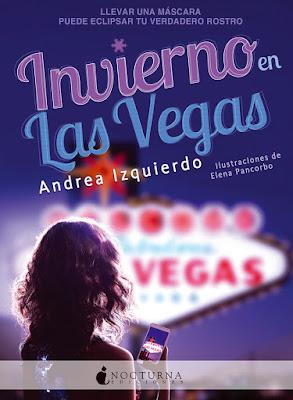 portada del libro Invierno en las Vegas de Andrea Izquierdo