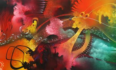 cuadros futuristas arte abstracto