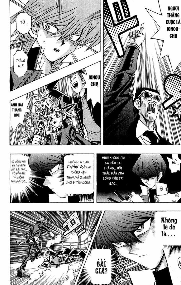 YUGI-OH! chap 217 - bóng tối thức tỉnh trang 11