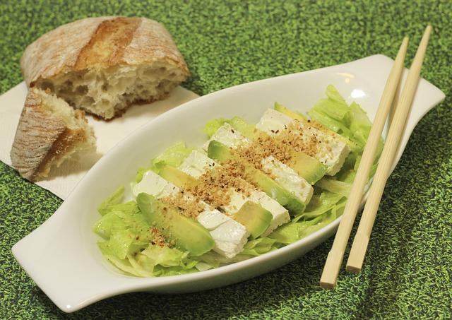 Recette Salade d'avocat au fromage