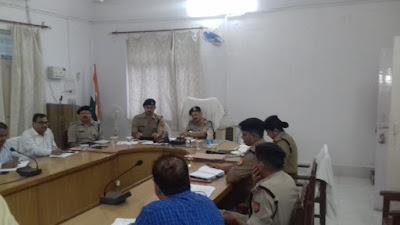 Uttar Pradesh Police Prepare For Moharram