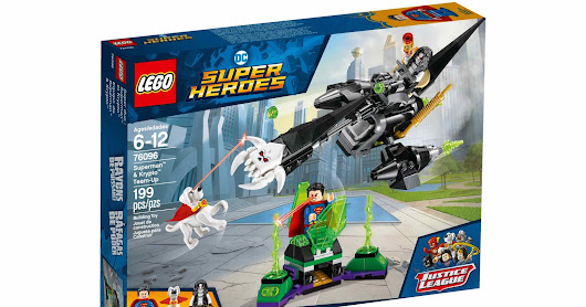 LEGO SET DATABASE LEGO 76096 Superman & Krypto Team-Up