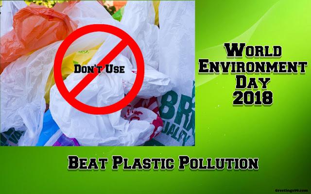 World Environment Day 2018 Theme