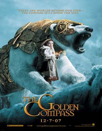 Poster Of The Golden Compass 2007 Hindi Dual Audio 500MB BluRay 720p ESubs HEVC Free Download Watch Online downloadhub.in