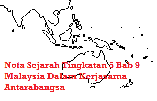 nota spm Malaysia Dalam Kerjasama Antarabangsa