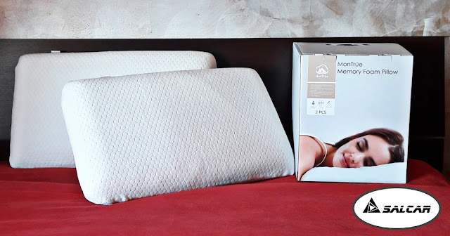 cuscino ortopedico cervicale in memory foam