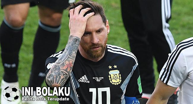 Eks Bintang Argentina Sarankan Messi Untuk Pensiun Saja