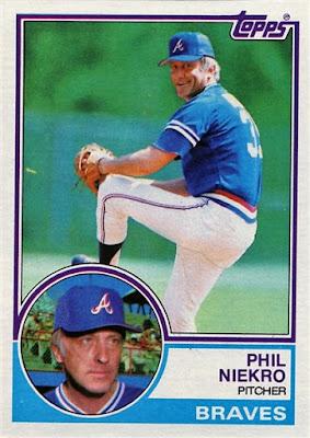 1983 Topps Phil Niekro