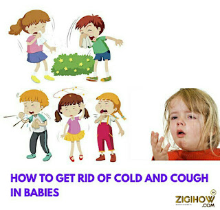 HOW TO GET RID OF COLD AND COUGH IN CHILDREN 1