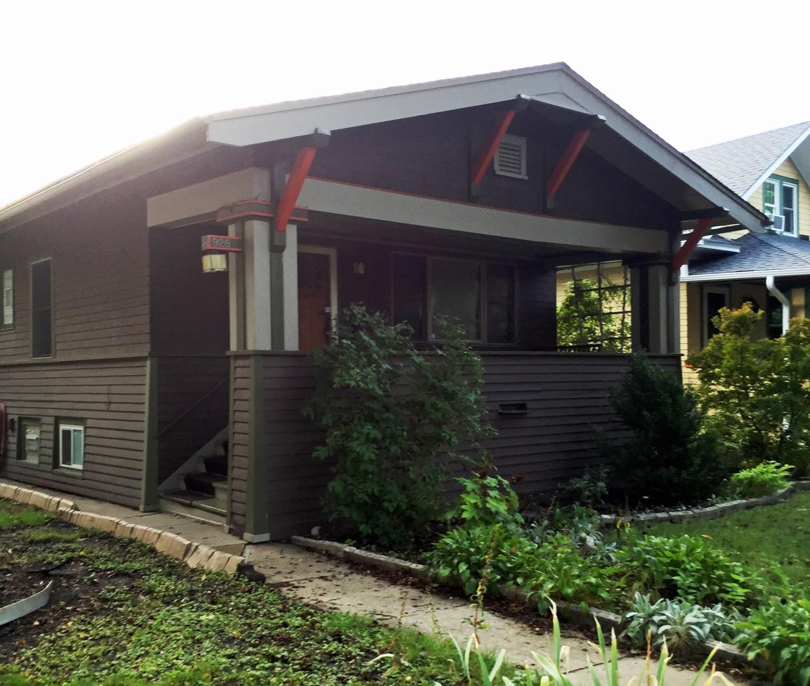 Bungalow Paint Schemes: Our Tiny Oak Park Bungalow