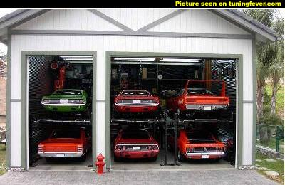 Ultimate garages great garages and car collections for Garage auto lyon 7