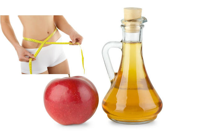 Giảm mở bụng bằng giấm táo