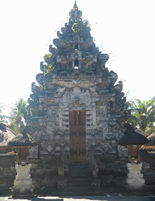 This temple is situated on the shoreline BaliBeaches: Masceti Temple Bali