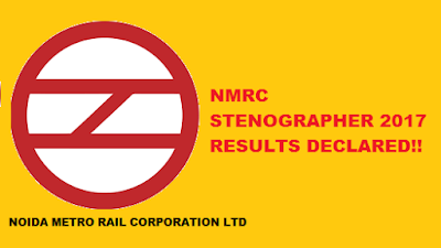 NMRC Stenographer 2017 Result Declared