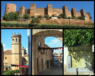 Baños de la Encina, varias imagenes. castillo, iglesia y arco,  de este precioso municipio de Jaén en el entorno de Sierra Mágina