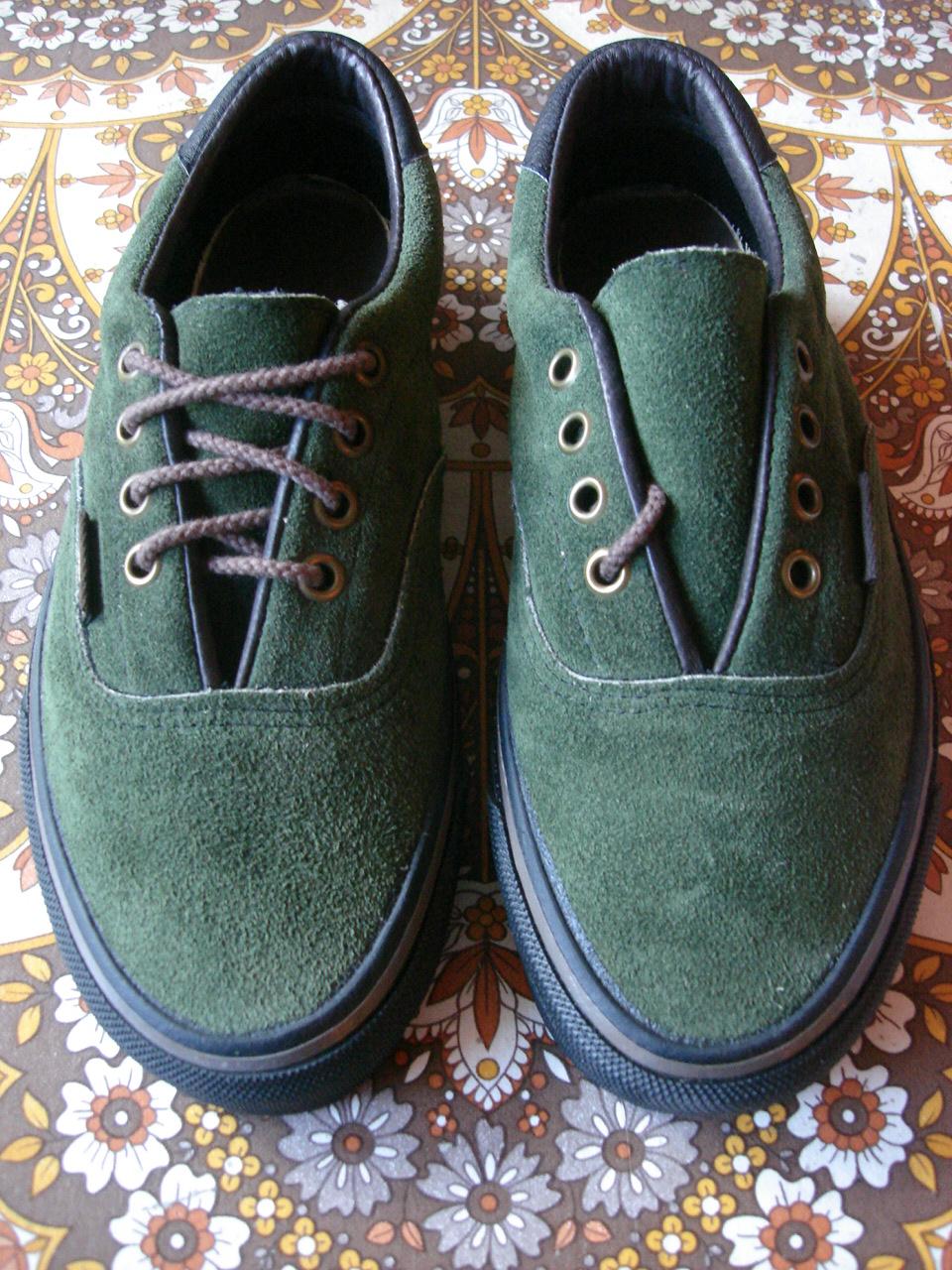 Theothersideofthepillow Vintage Vans Green Suede Era