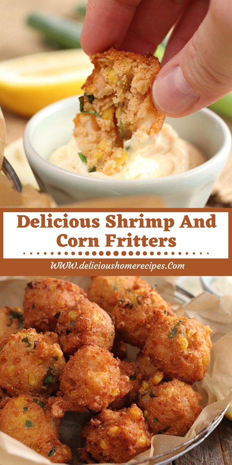 Delicious Shrimp and Corn Fritters