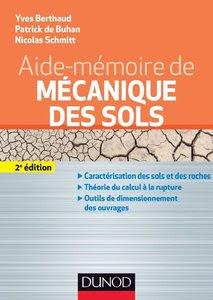 Télécharger Livre Gratuit Aide-mémoire de mécanique des sols pdf