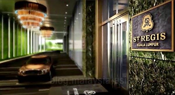St. Regis Hotel Kuala Lumpur Malaysia