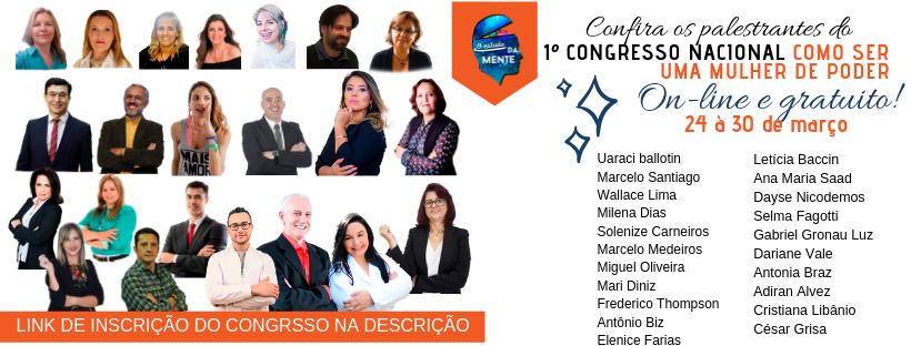 Congresso online COMO SER UMA MULHER DE PODER