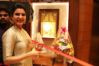 Samantha Ruth Prabhu in Cream Suit at Launch of NAC Jewelles Antique Exhibition 2.8.17 ~  Exclusive Celebrities Galleries 038.jpg