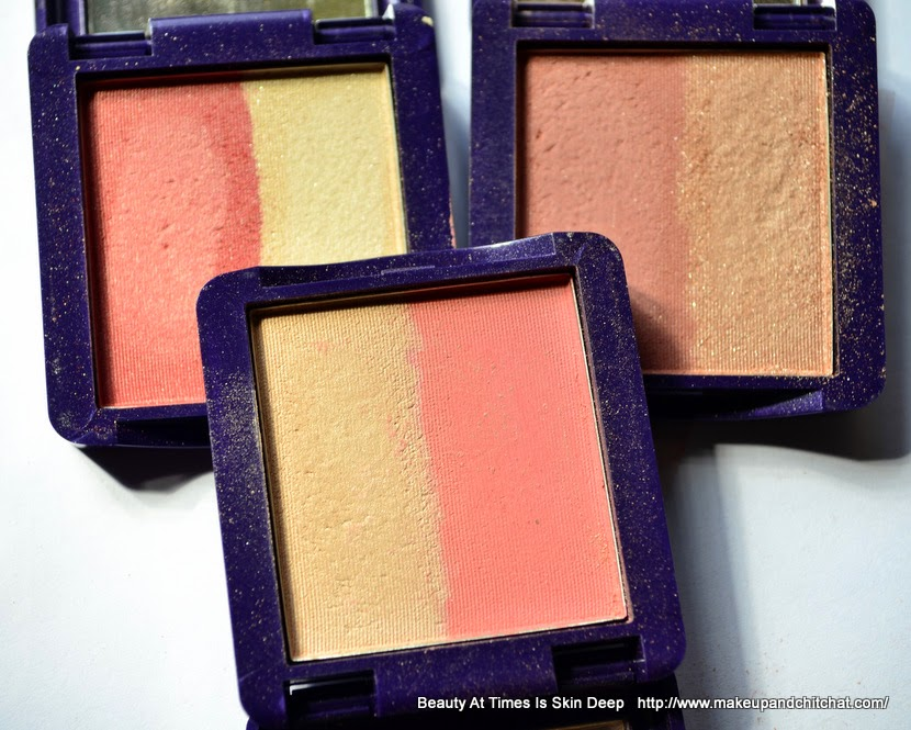 Oriflame Illuskin Blush Luminous Peach,Shimmer Rose, Pink Glow Photo