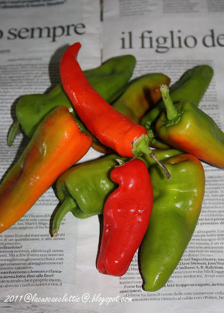 Delizie dall'orto: i peperoni