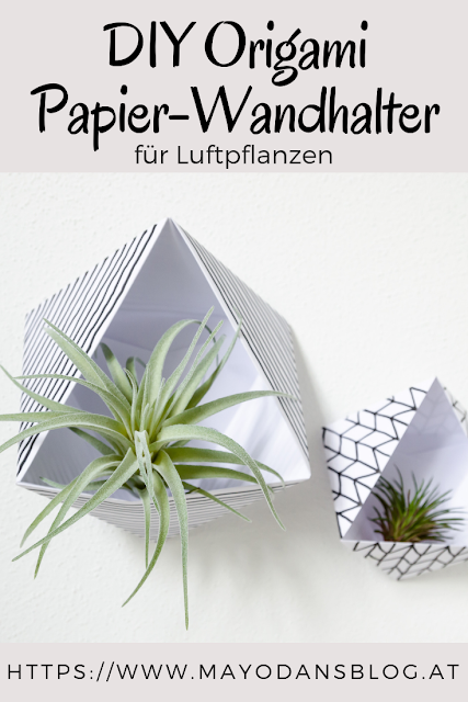 Anleitung für Papier-Wandhalter