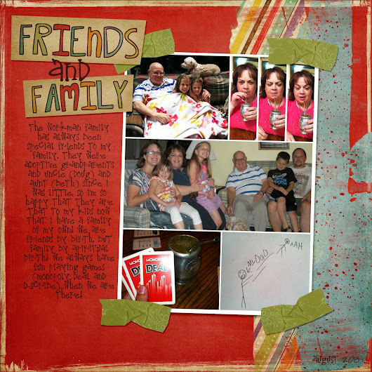 Scrapbook- Friends and Family- The Workmans!