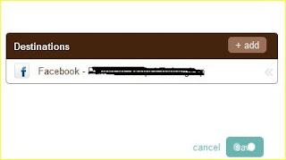 Share Otomatis Posting Blog ke Facebok dan Twitter