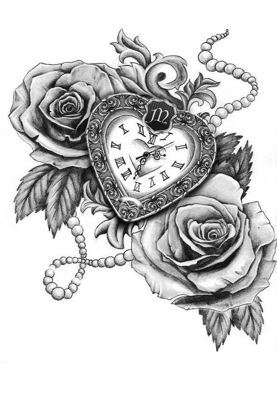 Awesome Clock Tattoos For Women and Men