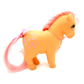 MLP Peachy Year Two Milton Bradley Piggy Ponies G1 Pony