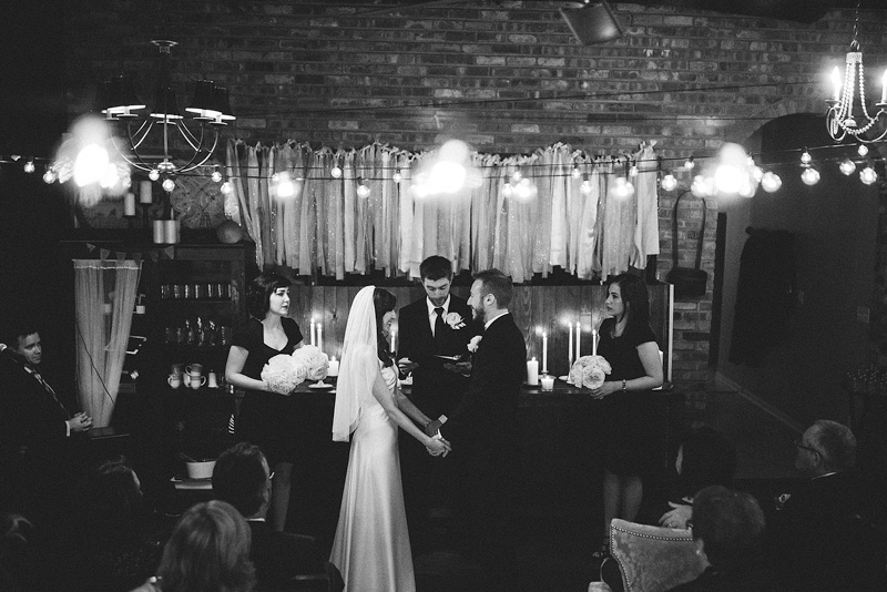 Chicago Intimate Fennel and Iris Wedding Photography