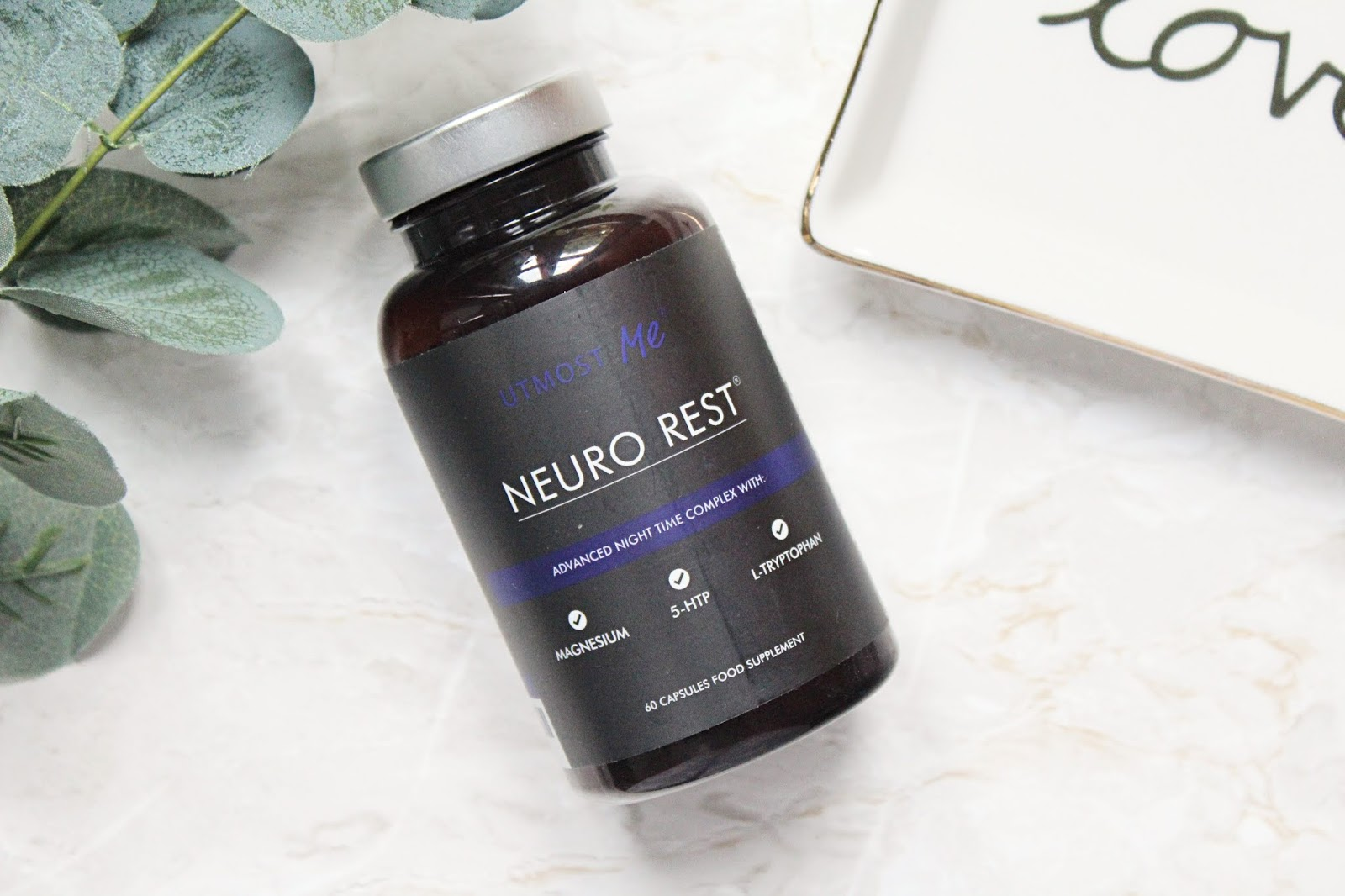 Utmost Me Neuro Rest - Natural Sleep Aid & Anxiety Relief