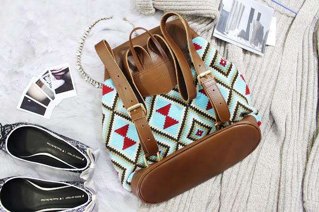 castellano ethical fashion bag, castellano review, castellano ethical origins backpack, columbia backpack, made in columbia bag, wayuu world castellano, castellano review,