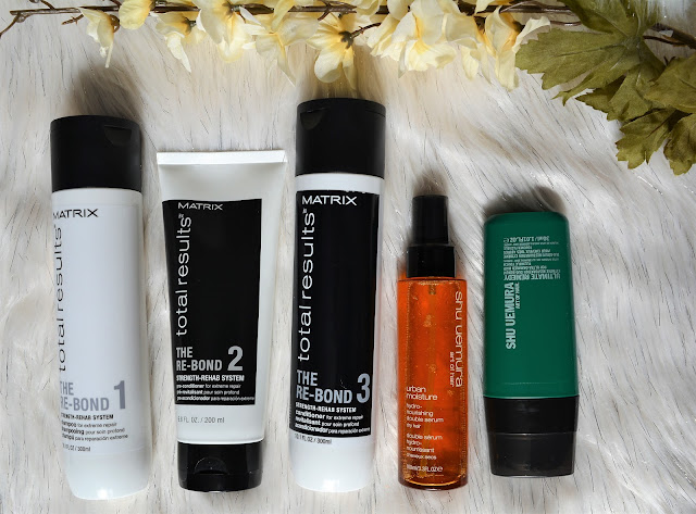 Matrix & Shu Uemura Hair Care | My 5 Step Process