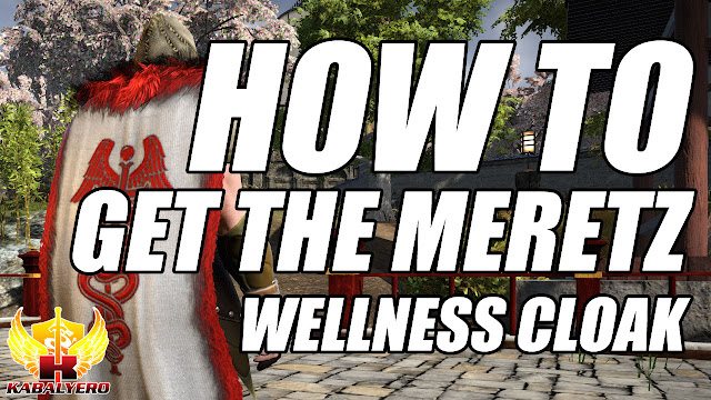 How To Get The Meretz Wellness Cloak In Shroud Of The Avatar • The Kabalyero Show