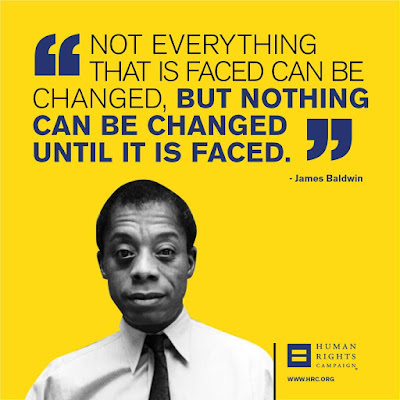 Not everything that is faced can be changed but nothing can be changed until it is faced